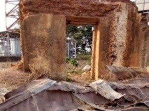 a dilapidated building in Kogi State