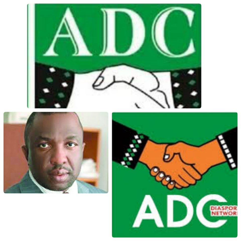 Mr. Ralph Nwosu national chairman to ADC Diaspora Network