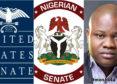 US Senate Eagle and Nigerian coat of arms