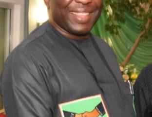 Mr. Ralphs Okey Nwosu of the Chairman of African Democratic Congress